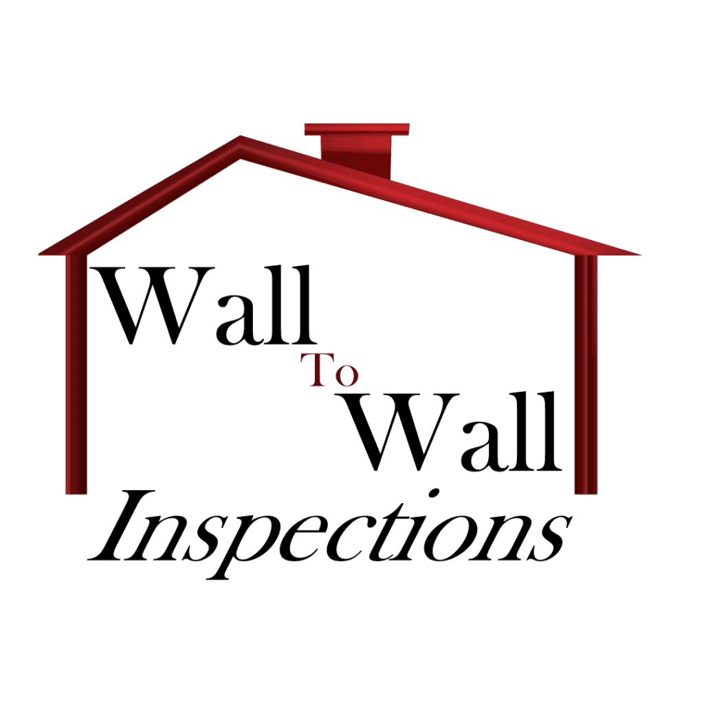 Wall to Wall Inspections Logo Stacked